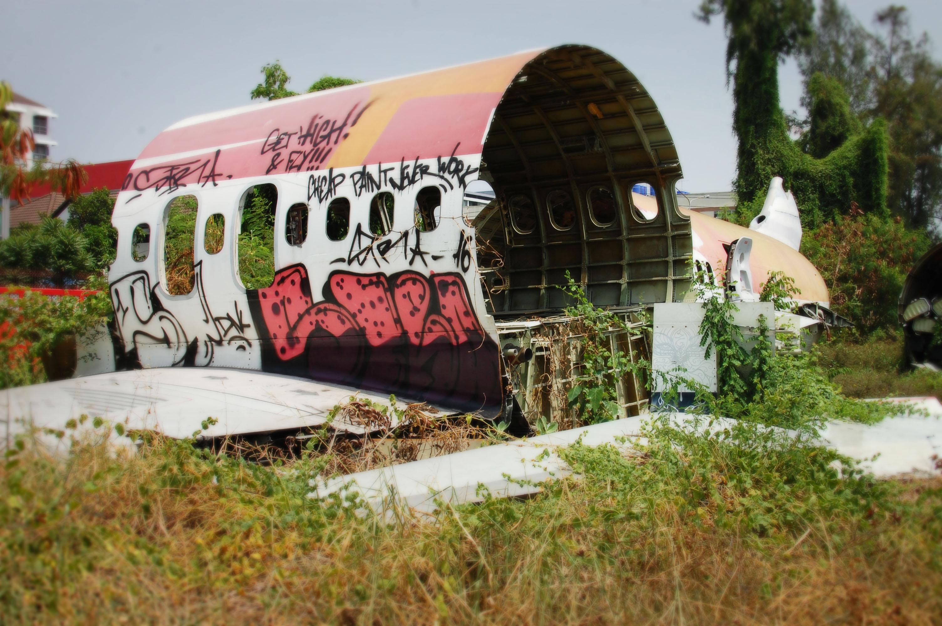 Photography Walk Week 6: Aeroplane Graveyard